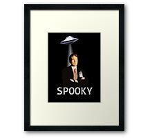 Agent Spooky Mulder Framed Print