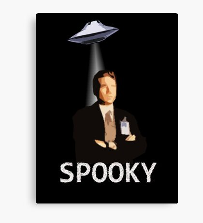 Agent Spooky Mulder Canvas Print