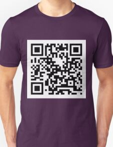 """You Are Worth It"" Barcode Print T-Shirt"