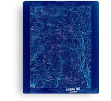 New York NY White Lake 144472 1922 62500 Inverted Canvas Print