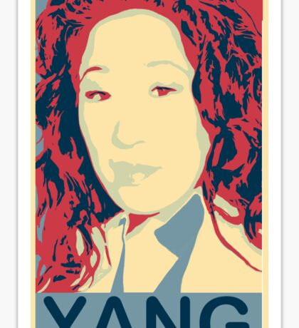 "Grey's anatomy - ""Oh, screw beautiful, I'm brilliant! "" - Cristina Yang * notebooks and journals added Sticker"