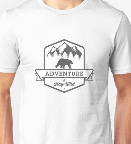 Adventure & Stay Wild Unisex T-Shirt