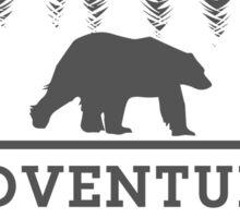 Adventure & Stay Wild Sticker