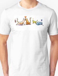 Cats n Hearts T-Shirt