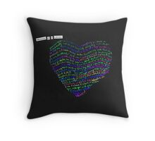 Adventure of a Lifetime - Coldplay A Head Full Of Dreams Throw Pillow