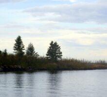 Sailboat On Lake Superior Sticker