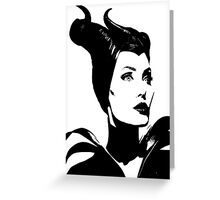 Maleficent  Greeting Card