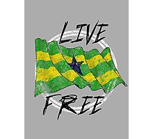 Live Free Photographic Print