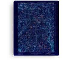 New York NY White Lake 144475 1922 62500 Inverted Canvas Print