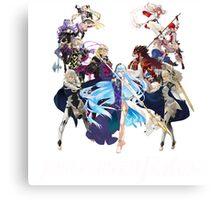 Fire Emblem Fates - Hoshido VS Nohr (Alt.) Canvas Print