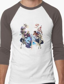 Fire Emblem Fates - Hoshido VS Nohr (Alt.) Men's Baseball ¾ T-Shirt