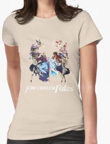 Fire Emblem Fates - Hoshido VS Nohr (Alt.) Womens Fitted T-Shirt