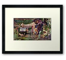 Quick Trends Happening on Valentines Day. Framed Print