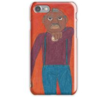 Angry Old Man iPhone Case/Skin