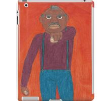 Angry Old Man iPad Case/Skin