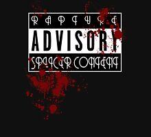 ADVISORY - RAPTURE SPLICER Women's Fitted V-Neck T-Shirt