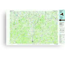New York NY Norwich 137470 1986 100000 Canvas Print