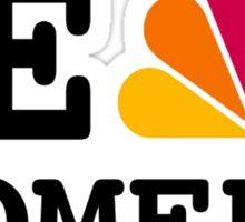 NBC we peacock comedy Sticker