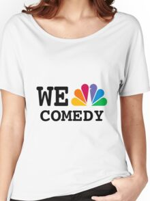 NBC we peacock comedy Women's Relaxed Fit T-Shirt