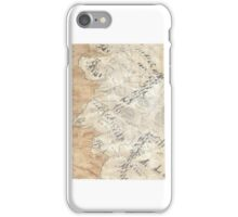 Lord Of The Rings Map - Hand Drawn * Notebooks and Journals added * iPhone Case/Skin