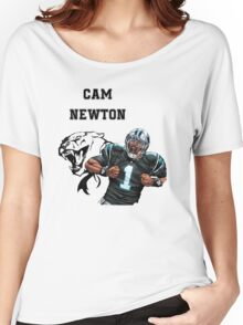 Cam Newton Panthers Women's Relaxed Fit T-Shirt