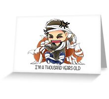Nogitsune - I AM A THOUSAND YEARS OLD  Greeting Card