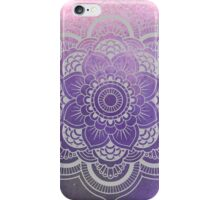 Purple Watercolor Mandala iPhone Case/Skin