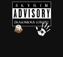 ADVISORY - DRAGONBORN CONTENT Women's Relaxed Fit T-Shirt
