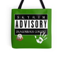 ADVISORY - DRAGONBORN CONTENT Tote Bag