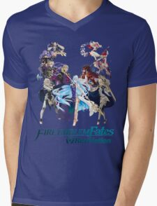Fire Emblem Fates - Hoshido & Nohr (REVELATION) Mens V-Neck T-Shirt