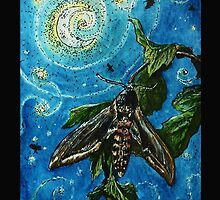 Moth Magic in the Moonlight  by Ellie-Blue