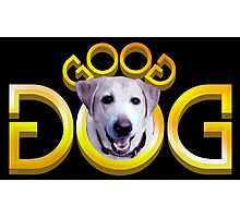 GOOD DOG (Double Word Mirror Image Ambigram) Photographic Print