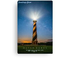 Outer Banks. Canvas Print