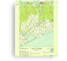 New York NY Sag Harbor 129284 1946 24000 Canvas Print