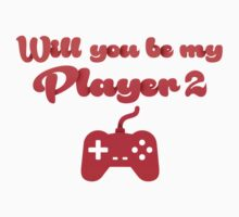 Will you be my player 2 - version 3 - red by Supreto