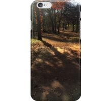 Shaded Tee Pad in Fall iPhone Case/Skin