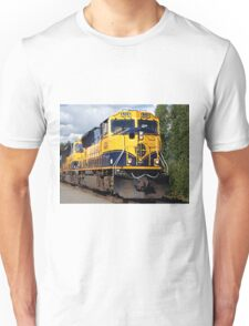 Alaska Railroad train engine Unisex T-Shirt