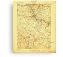 New York NY Canajoharie 140417 1902 62500 Canvas Print