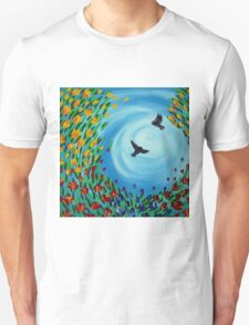 Swept Up With Passion Unisex T-Shirt
