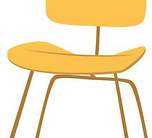 Ray & Charles Eames Chair Classic Design by bekindly