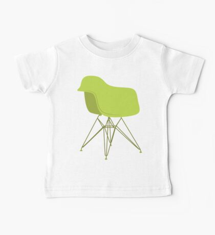 Ray & Charles Eames Lounge Chair Classic Design Baby Tee