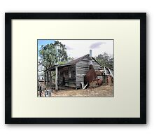 Still Standing in Costerfield  ( 1 ) Framed Print
