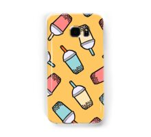 Bubble Tea Pattern Samsung Galaxy Case/Skin