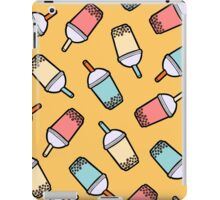 Bubble Tea Pattern iPad Case/Skin