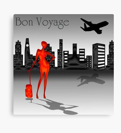 Bon voyage Canvas Print