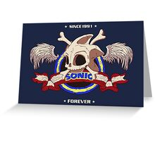 Sonic Forever Greeting Card
