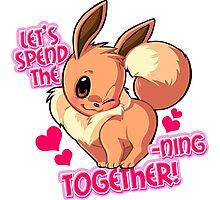 Valentine Pokemon Photographic Print