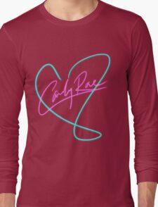 Carly Rae Jepsen - Heart Print Long Sleeve T-Shirt