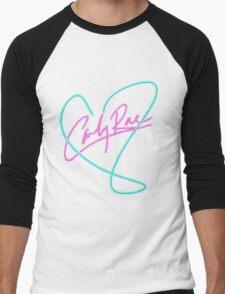 Carly Rae Jepsen - Heart Print Men's Baseball ¾ T-Shirt