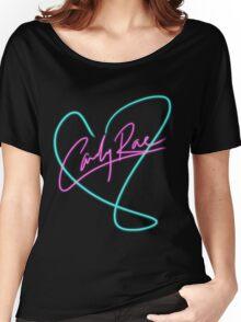 Carly Rae Jepsen - Heart Print Women's Relaxed Fit T-Shirt